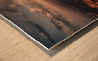 Light Blades Wood print