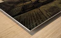 LaCrypt Wood print