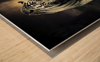 White walker Wood print