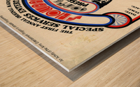 East of Underground Poster WEB USE Wood print