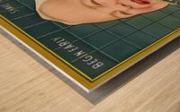 Gillette Safety Razor Wood print