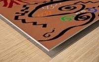 No face Wood print