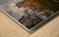 River side Wood print