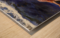 Bathers at Valencia Wood print