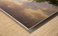 Paesaggio della Westfalia Wood print