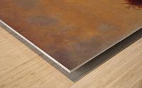Gathering the Buckwheat Wood print