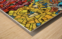 graffiti 569265 Wood print