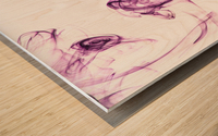 The Smoke Wood print