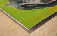 Спаниель Wood print