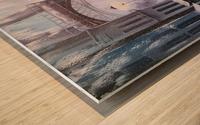 Первый снег в Париже   Wood print