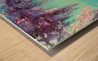 Глициния у моря Wood print