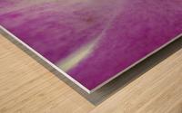 purpletongue2 Wood print