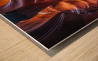 Antelope Canyon 4 Wood print