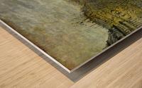 Boulevard of Capucines by Monet Wood print