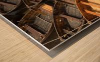 Wooden Boats Wood print