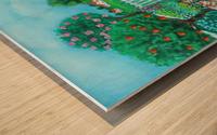 gardening Wood print
