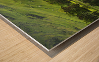 Green Peace, Buttermere, UK Wood print