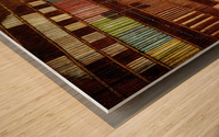 Break in transmission Wood print
