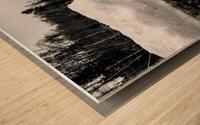 Spring Lakeshore Wood print