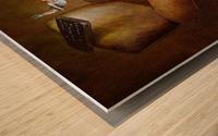 TV sport Wood print