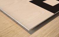 YING YANG  Wood print