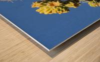 Cactus in bloom Wood print