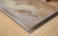 Zonsondergang Wood print