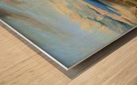 Meeresbucht in Italien Wood print