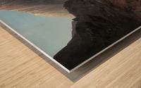 Bau der Teufelsbrucke Wood print