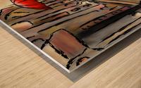 Hafanissia V1 - lady umbrella Wood print