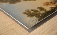 Fete villageoise Wood print