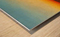 Caravanne au Couche-Sol Wood print