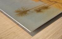 The Banks of the Nile Wood print