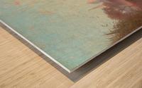 Environs du Caire Wood print