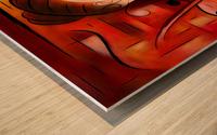 Casselopia - Violin dream Wood print