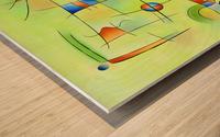Frenesia - mad world Wood print