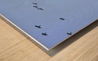 Flock of Geese 2 Wood print