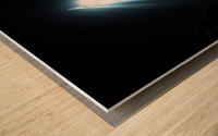 dark cave ver Wood print