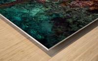 Clean turtle Wood print