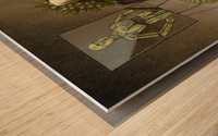 cremation Wood print