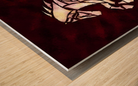 Cavallerone - white horse Wood print