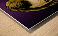 The Joker Says Wood print