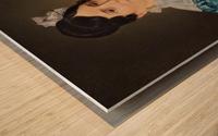 Portrait of Sarah Wolff Wood print