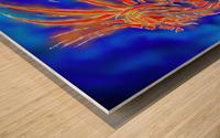 Essemios - furious dragon Wood print