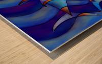 Cassanella - dream fish Wood print