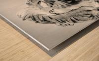 King of the Beast Wood print