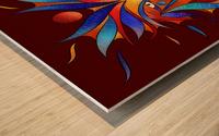 Sanopsilla - the dog Wood print