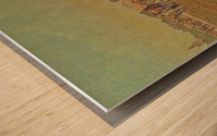 Visiting the fair Wood print