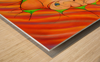 Alessinium - beauty curves Wood print