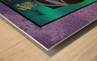 A2TwoDiamondsCard Wood print
